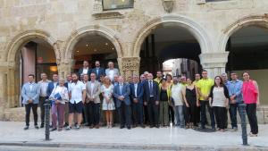 Imatge dels 33 nous consellers del Consell Comarcal del Tarragonès.