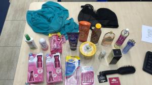 Imatge dels objectes recuperats per la Policia Local del Vendrell