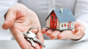 Imatge d'un habitatge i unes claus