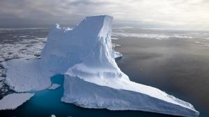 Imatge d'un iceberg