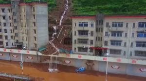 Imatges de les inundacions a la Xina