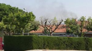 Incendi a l'escola La Vall a Bellaterra