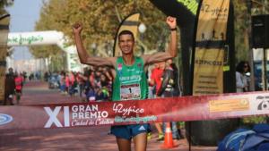 Jaouad Tougane en una carrera