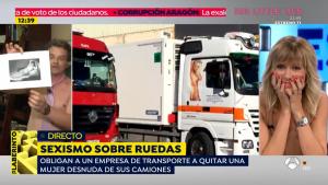 Javier Fernández no ha dudado en quitarse la camisa y en proseguir con sus explicaciones