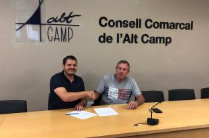 Joan Maria Sanahuja serà, de nou, el president del Consell Comarcal de l'Alt Camp