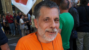 Joan Salvador Sorribes en una acto de compromís