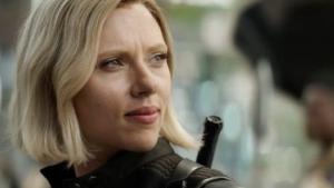 Johansson como Romanoff en 'Avengers: Infinity War' (2018)