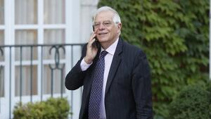 Josep Borrell ha explicat que Grècia ha optat per cessar Turró