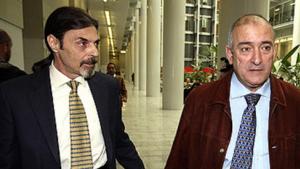Juan Ignacio Blanco i Fernando García, durant 'El caso Alcàsser'