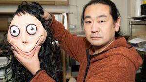 Keisuke Aiso escultor de Madre Pájaro más conocida como Momo