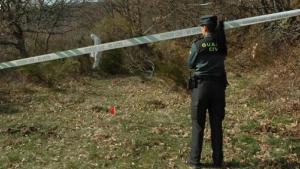 La Guardia Civil continúa buscando más restos en la zona