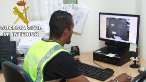 La Guàrdia Civil deté a una persona per tinença de pornografia infantil a Alzira