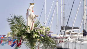 La Mare de Déu del Carme, venerada dissabte a la tarda a Roda de Berà.