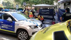 La Policia Local ha efectuat les maniobres amb el desfibrilador