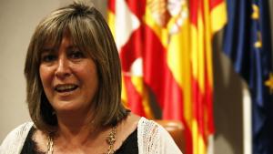 La presidenta de la Diputació de Barcelona, Núria Marín, el dia 11 de juliol de 2019