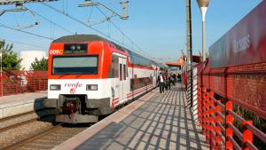 La tragedia ha tingut lloc a 200 metres de l'estació de Viladecans, a les 11.30 hores