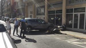 L'accident no ha provocat ferits