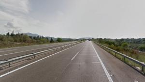 L'accident s'ha produt a l'AP-7 a l'alçada d'Amposta en sentit Castelló i ha deixat un ferit lleu