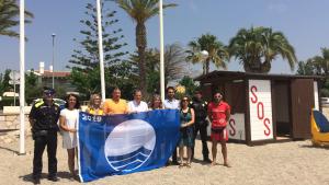 L'Ajuntament de Vandellòs i l'Hospitalet de l'Infant ha pogut renovar les distintives Banderes Blaves a les tres platges del Torn, la Punta del Riu i l'Arenal.