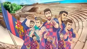L'amfiteatre de Tarragona es cola en un vídeo promocional de la gira asiàtica del Barça