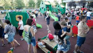 L'ampliació del nou parc del Vilar i les millores a la plaça del Quater han suposat una inversió de 71.500 euros