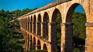 L'aqüeducte de les Ferreres o Pont del Diable de Tarragona, un dels protagonistes del capítol projectat.