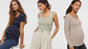 Las camisetas de la colección H&M premamá