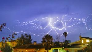 Las tormentas volverán a caer en muchos puntos este martes