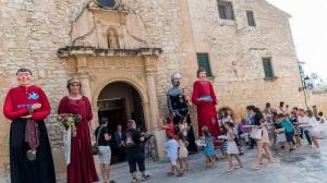Les imatges de la Processó del Pa Beneït de Creixell