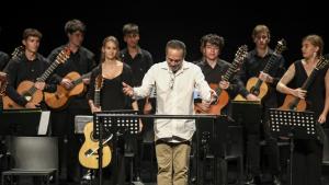 Les imtages del Homenatge a Leo Brouwer al Teatre Auditori de l'Hospitalet de l'Infant