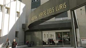 L'Hospital Verge dels Lliris, en Alcoi, a on han sigut traslladats els tres ferits