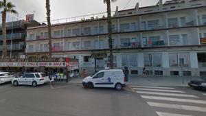 L'Hotel Playa, de Peníscola, lloc a on s'ha produït l'incendi