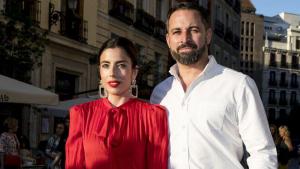 Lidia Bedman junto a su esposo, Santiago Abascal