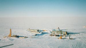 La estación meteorológica de la Base de Vostok registró una temperatura de -89,2 ºC