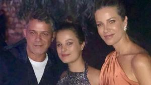 Manuela Sámchez amb els seus pares