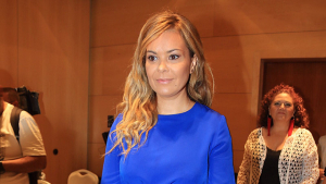 Maria José Campanario en la gala benéfica por la fibromialgia