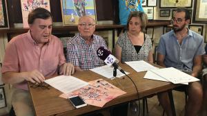 Membre de la junta de l'Associació Cultural de Sant Roc de Tarragona han presentat les novetats aquest dimecres.