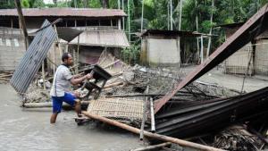 Més de 2.000 persones han hagut de ser rescatades degut als efectes de les intenses pluges