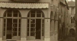 Mesón de los Arcos, a finals dels anys 40 del segle passat