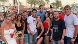 Messi està de vacances a Eivissa amb la seva família i amics