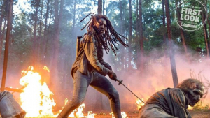 Michonne dará que hablar en la temporada 10 de 'The Walking Dead'