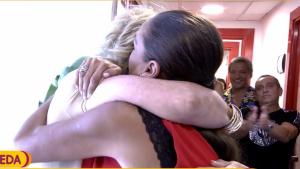 Mila Ximénez e Isabel Pantoja se han abrazado