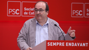 Miquel Iceta ha assegurat que per estimar el català no hi ha d'haver «menys castellà»