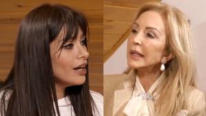 Miriam Saavedra le recriminó a Carmen Lomana no ser buena anfitriona
