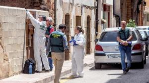 Mónica murió tras ser apuñalada por su marido en Salas de los Infantes, Burgos