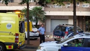 Mossos d'Esquadra, SEM i Guàrdia Urbana han acudit al lloc dels fets