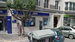 Oficina bancària de la plaça del Pla de Borriana