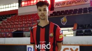 Pablo Nájera, presentat com a nou jugador del Reus Deportiu Miró.