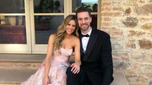 Pau Gasol y Cat McDonell ya son marido y mujer
