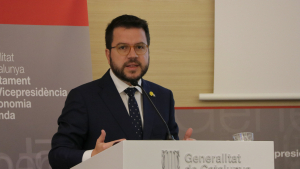 Pere Aragonès, vicepresident del Govern i conseller d'Economia